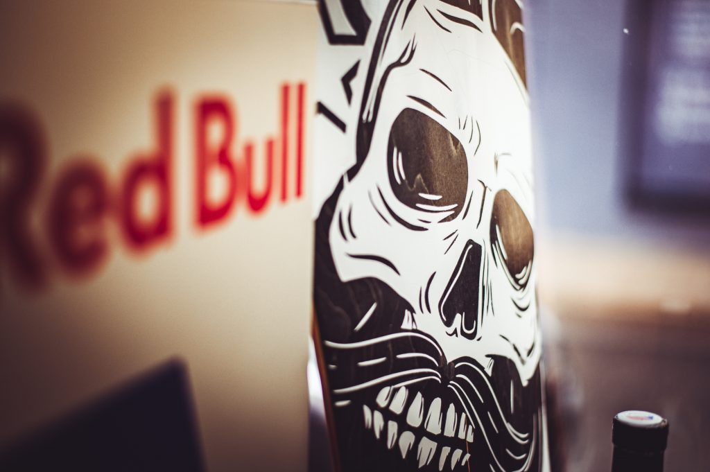 Red Bull text artwork